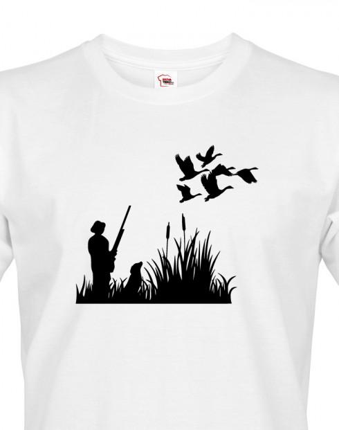 Tričko pro myslivce Lov kachen