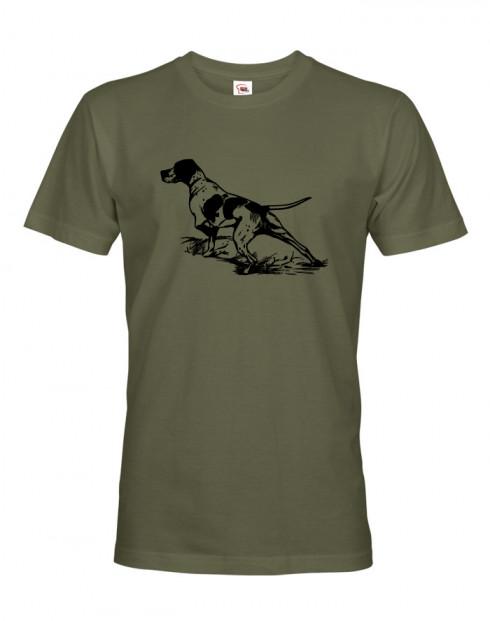 Tričko pro myslivce K noze...