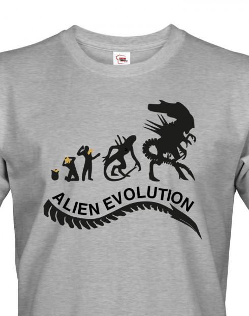 Pánské tričko Alien Evolution