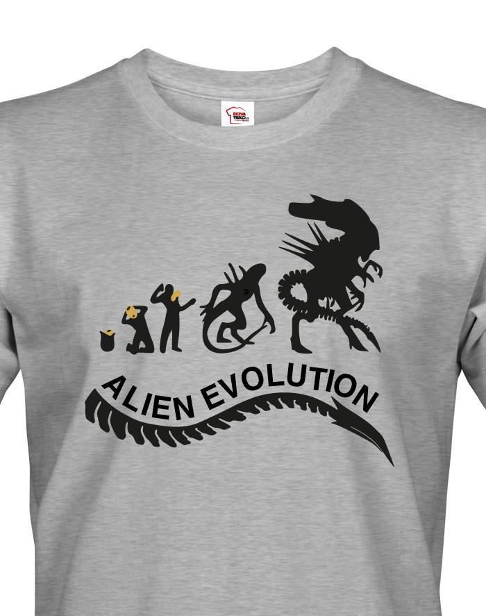 Pánské tričko Alien Evolution - pro všechny fanoušky série Vetřelec