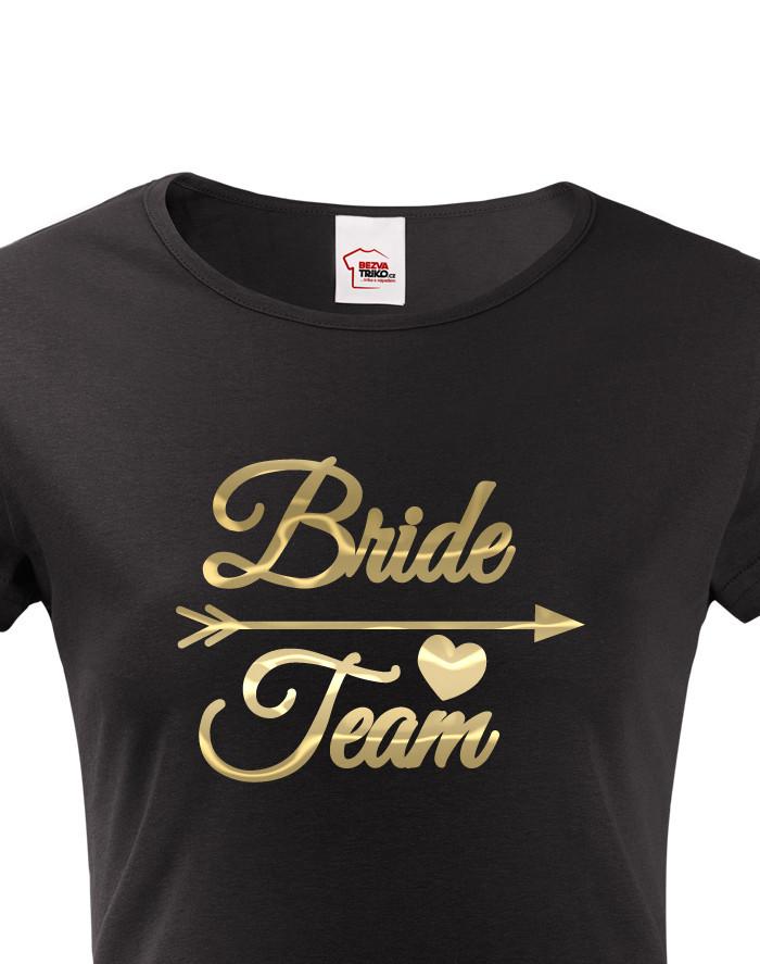 Dámské tričko Bride Team