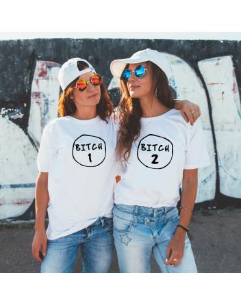 Dámská BFF trička Bitch