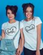 Dámská trička Best Friends se srdcem