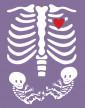 Tričko pro těhotné maminky Kostřičky dvojčátka