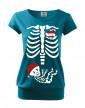 Vtipné těhotenské tričko Kostrička chlapeček