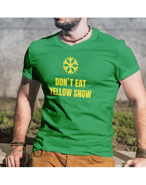 Pánské tričko Don´t eat yellow snow