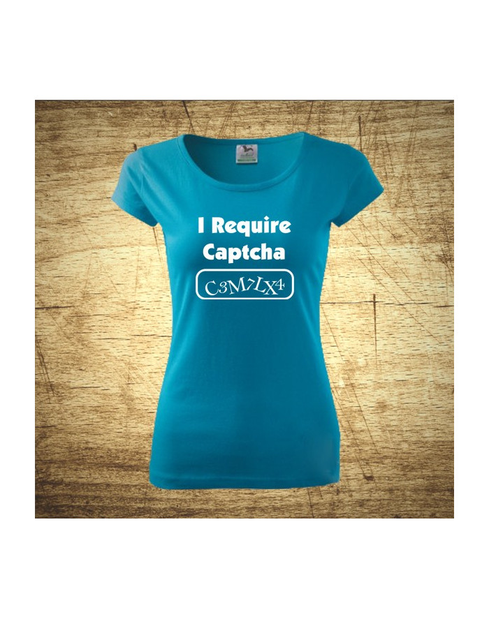 I require Captcha