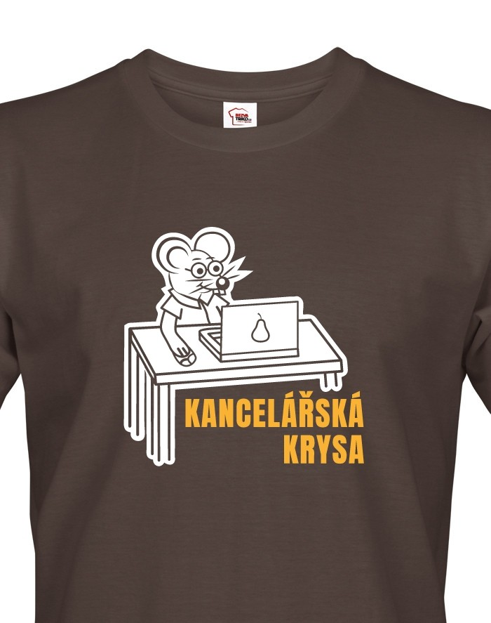 Pánské tričko Kancelářská krysa
