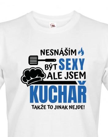 Pánské tričko Sexy kuchař