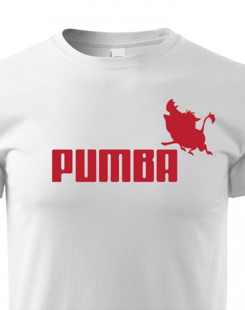 Dětské tričko s potiskem Pumba