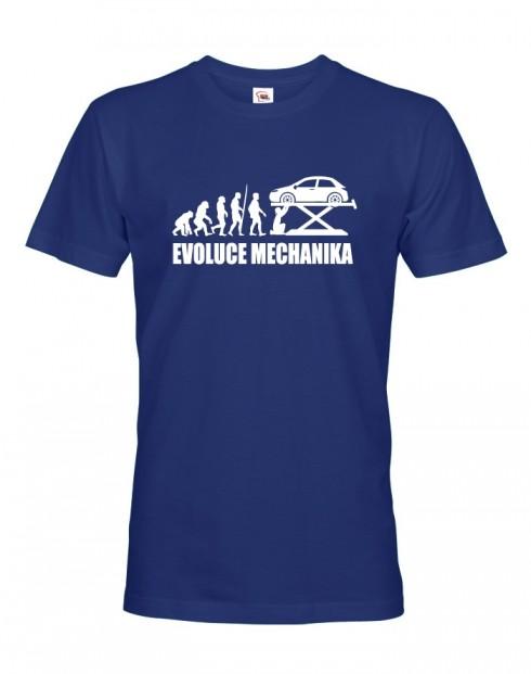 Pánské tričko Evoluce mechanika