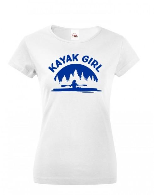 Dámské tričko Kayak Girl