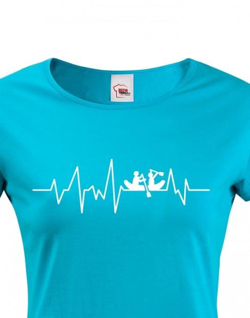 Dámské tričko Vodácký puls