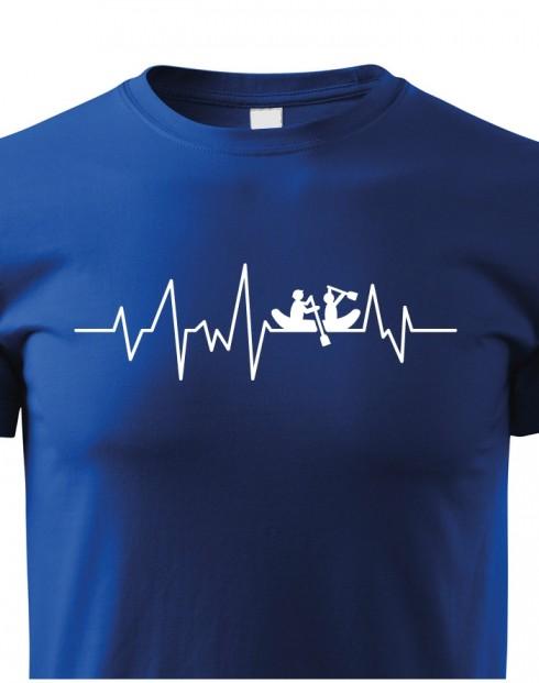 Dětské tričko Vodácký puls