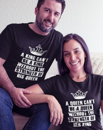 Trika pro páry King a Queen