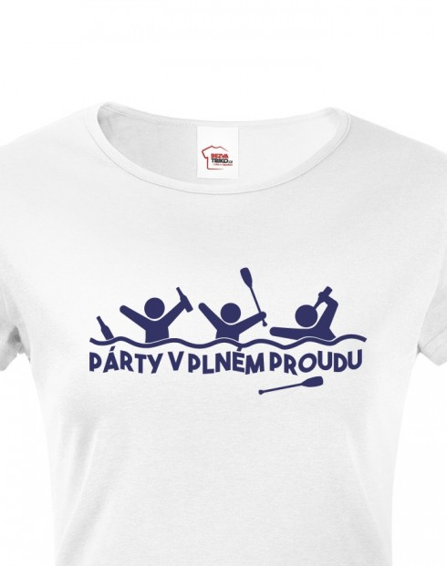 Dámské tričko Párty v plném proudu