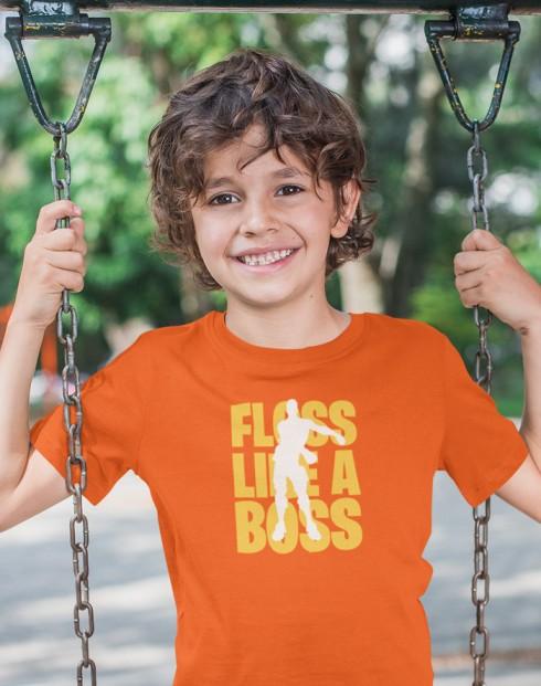 Dětské tričko Floss like Boss