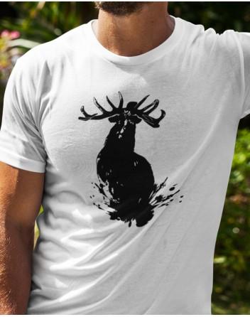 Pánské triko s jelenem