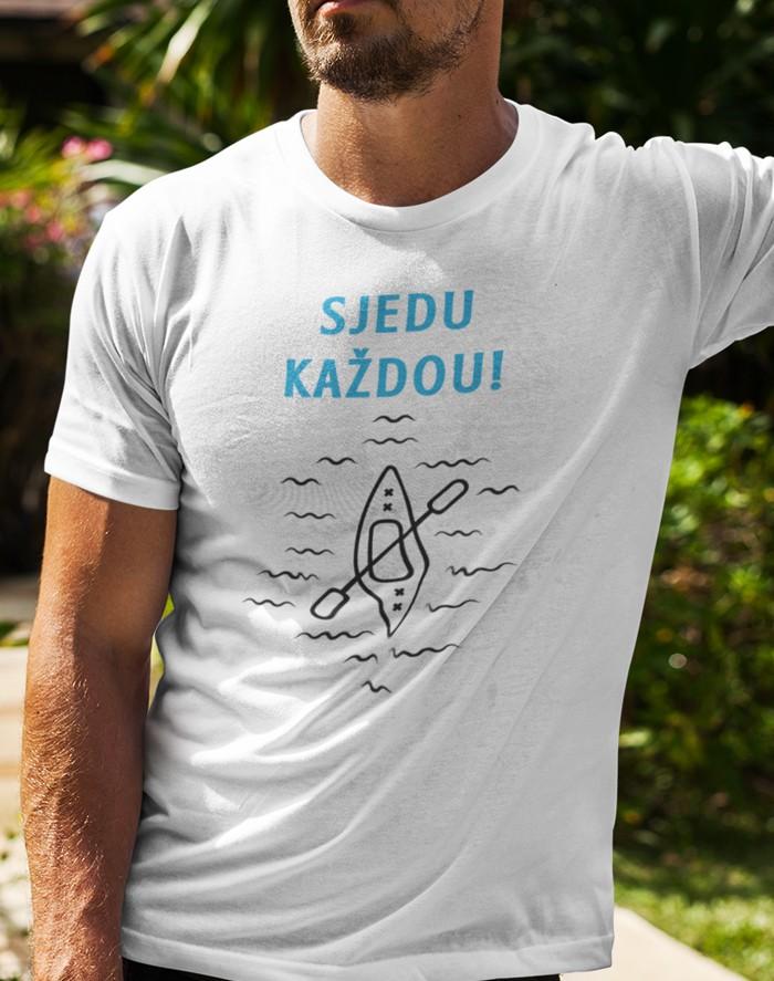 Pánské tričko Sjedu každou!