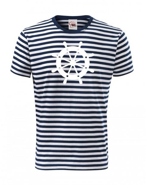 Pánské tričko s kormidlem Zadák