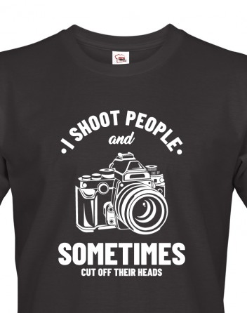 Pánské tričko pro fotografy