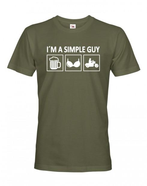 Pánské triko Iam Simple Guy