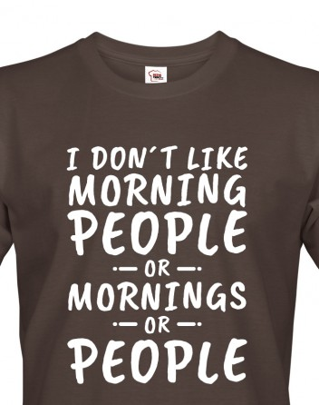 Pánské tričko Morning People