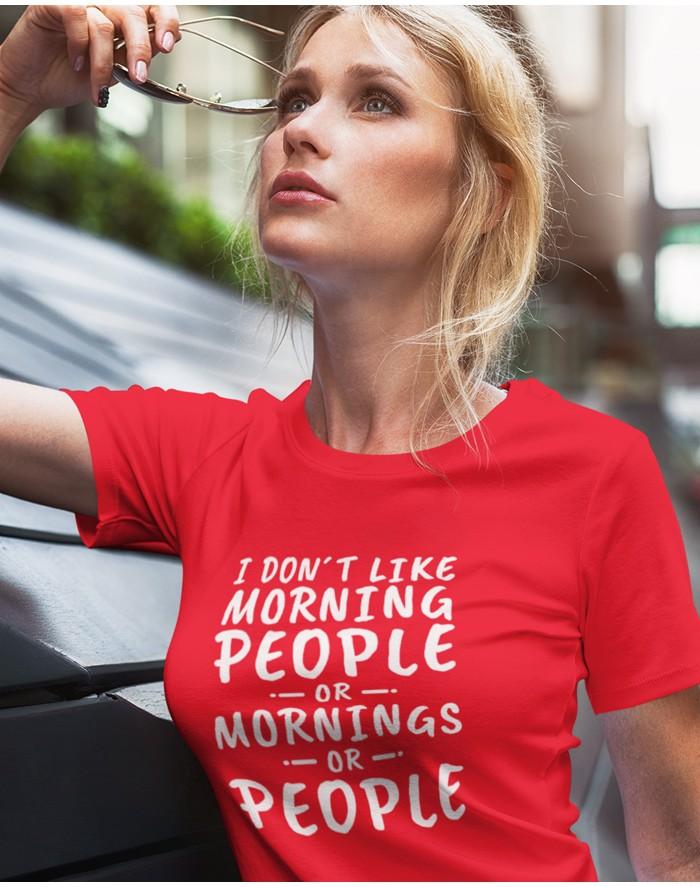 Dámské tričko Morning People