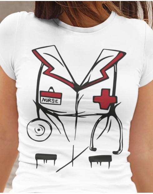 Dámské tričko pro sestřičky - Nurse