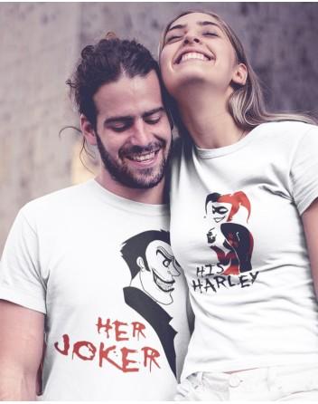 Trika pro páry Joker a Harley