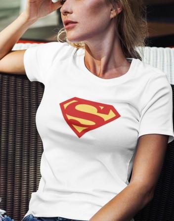 Dámské tričko Superwoman