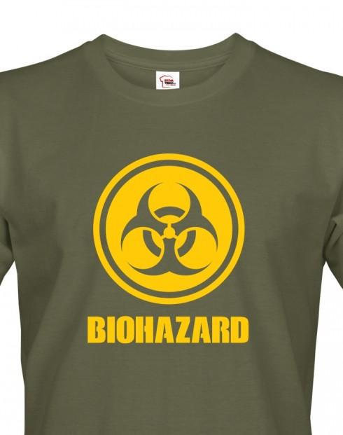 Pánské tričko Biohazard