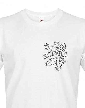 Pánské tričko Český lev 2