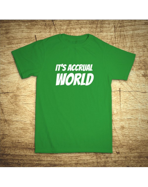 It´s accrual world