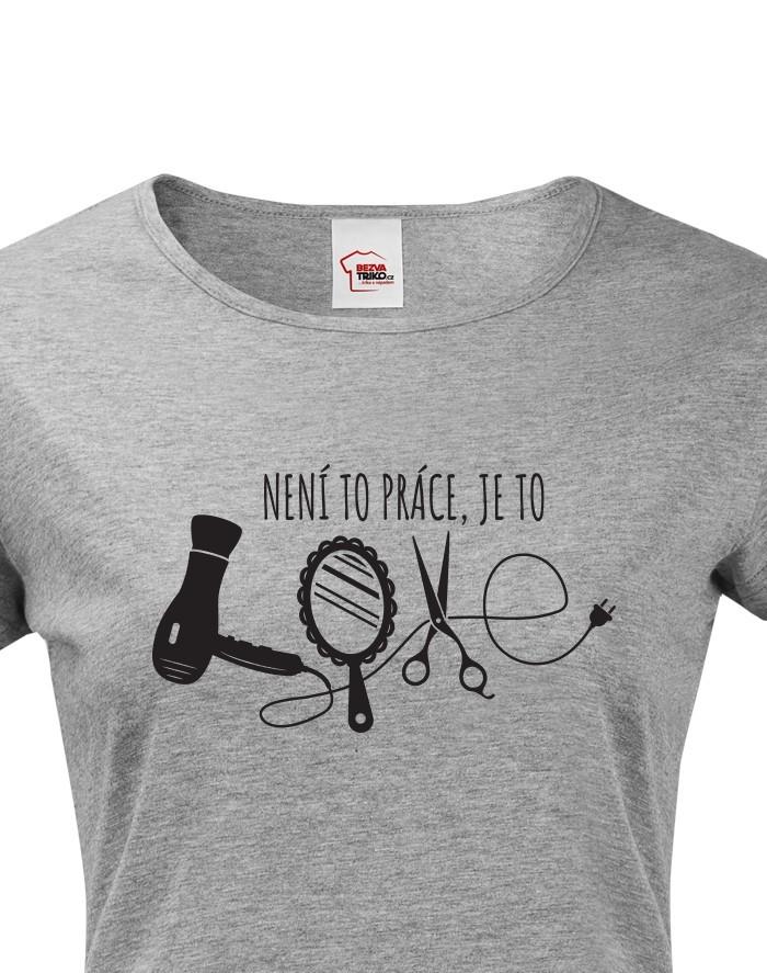 Dámské tričko Kadeřnice Love