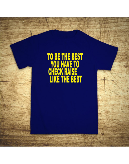 To be the best