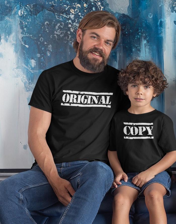Set triček Original a Copy