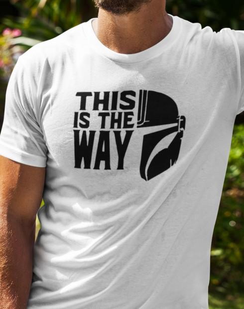 Pánské tričko Mandalorian