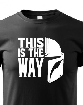 Dětské tričko Mandalorian