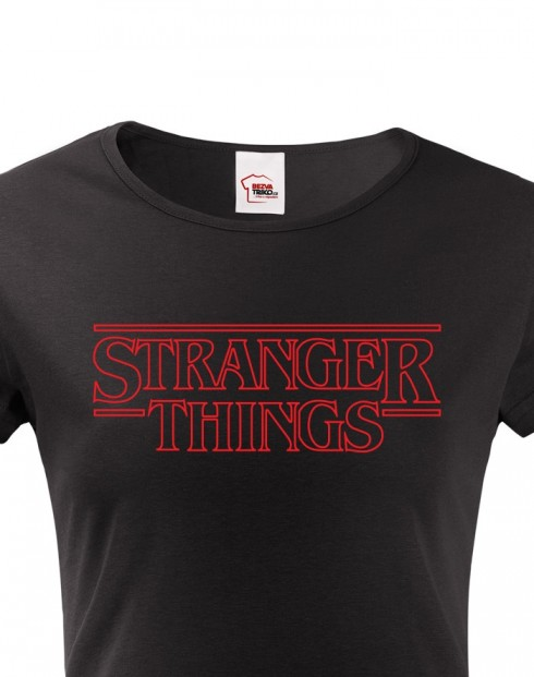 Dámské tričko Stranger Things