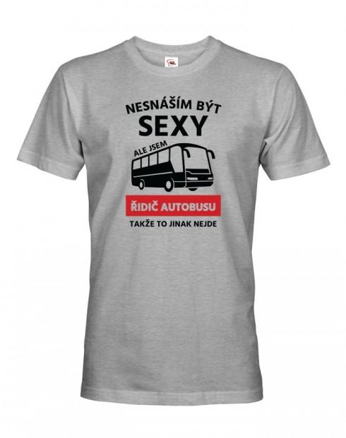 Pánské tričko Sexy řidič autobusu 2