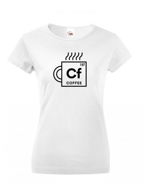 Dámské tričko Coffee
