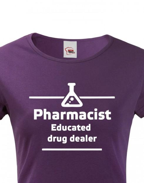 Dámské tričko pro lékarnice