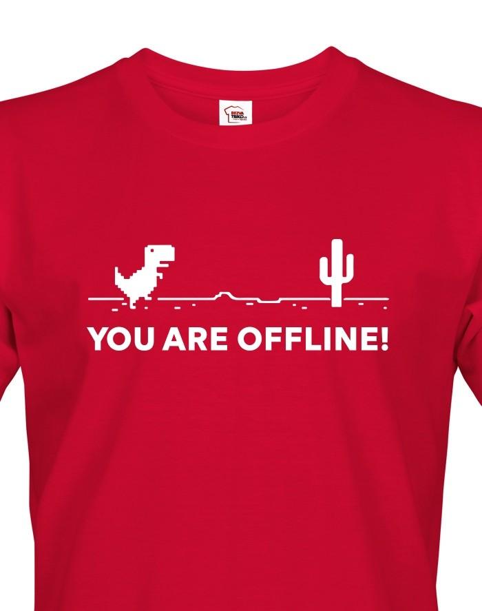 Pánské tričko You are Offline