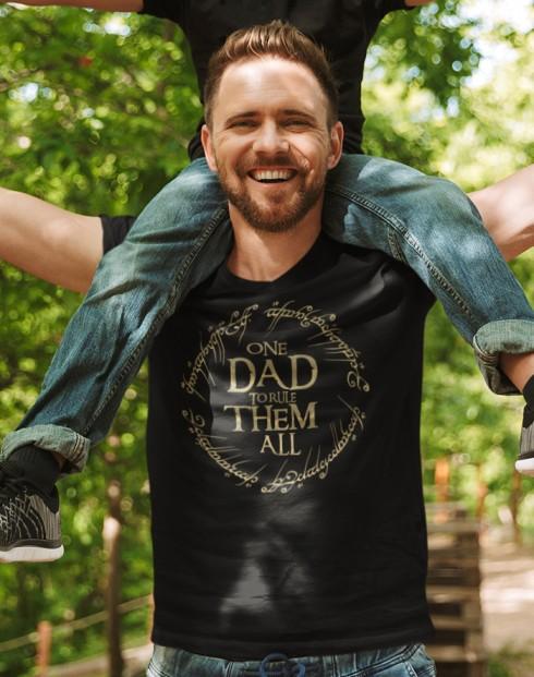 Tričko One Dad to Rule Them All