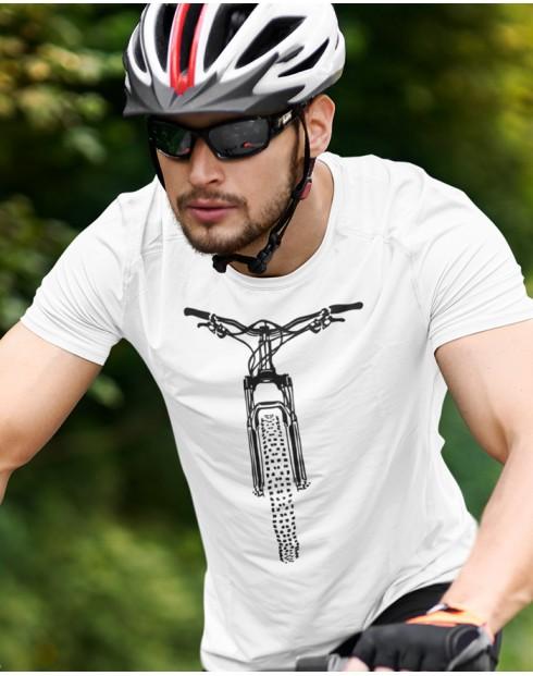 Pánské tričko MTB s horským kolem