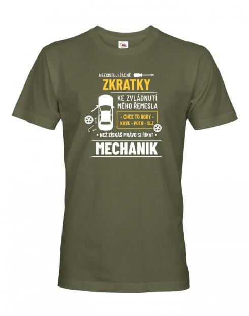 Pánské tričko pro automechaniky