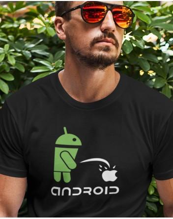 Pánské tričko Android vs Apple