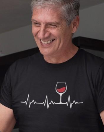 Pánské tričko Tep vína