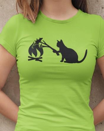 Dámské tričko kočka a myš